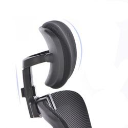 Descanso para cabeça ajustável, descanso para cabeça do computador para escritório, instalação gratuita, ajustável, proteção para pescoço, cadeira, escritório