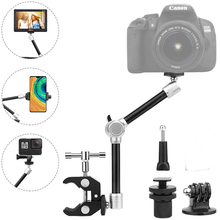 """11"""" Adjustable Robust Articulating Friction Magic Arm with Clamp Kit"""