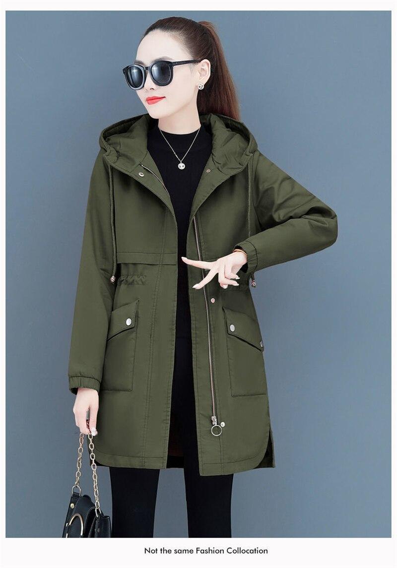 Hcc974cbc4016400fa348c6046cb26d75k NEW2021 Women Parkas Fashion Coat Elegant Winter Mid Long Cotton Jacket Plus velvet thickening Hooded Collar Female Snow Outwear