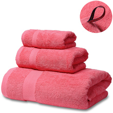 SEMAXE Cotton Soft Towels Set,1 Bath Towel,1 Hand Towel,1 Washcloth,Luxurious Towel for Bathroom- Pack of 3,Grey