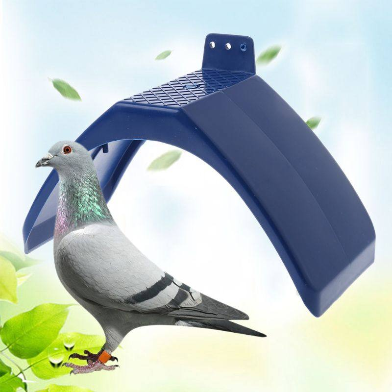Green Ejoyous Pigeon Rest Stand-10pcs Plastic Small Plastic Bird Perch Dove Rest Stand Anti-Skid Perches Roost Frame for Bird Supplies