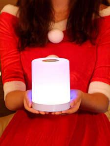 Smart Bedside Lamp Desk-Light Xmas Baby Bedroom Creative LED USB for Gift