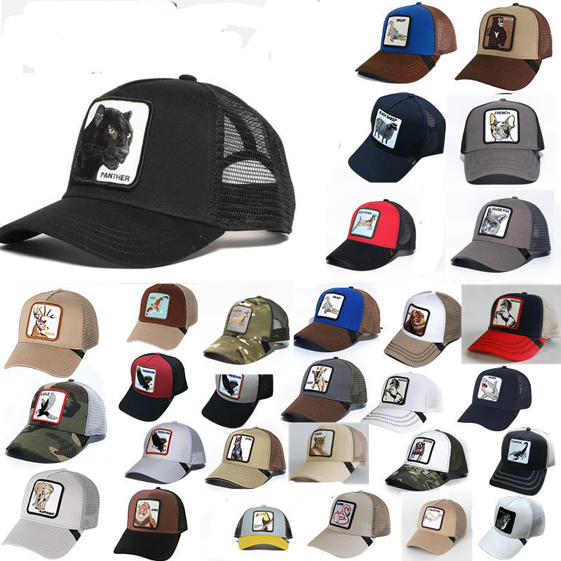 Mesh-Cap Baseball-Caps Truck-Driver Embroidery Dad-Hat Animal Adjustable Women's Summer