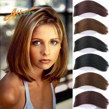 Allaosify 2 clips in hair extension suitable for women with