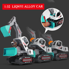 2019 New Diecast Plastic Construction Vehicle Engineering Cars Caterpillar Band Excavator Model Toys For Children Boys Gift