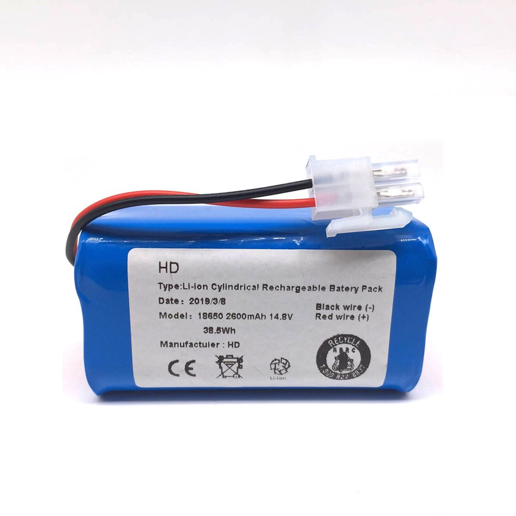 14.8 V 2800 Mah Robot Vacuum Cleaner Replacement Battery Pack For Chuwi Ilife V7 V7s Pro Robotic Sweeper