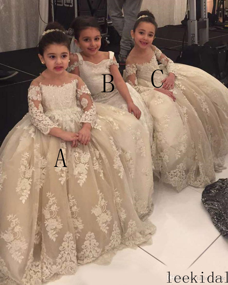 luxurious-lace-flower-girl-dresses-sheer