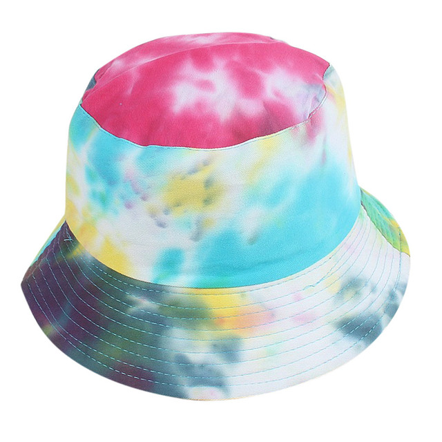 New Mixed Colors Cotton Sun Hats For Women Men Fashion Bucket Hat Fisherman Cap Festival Traval Beach Hat Gorra Mujer Zer