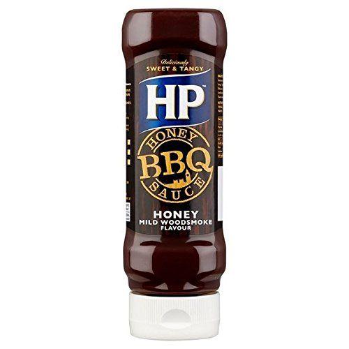 HP Miel Sauce Barbecue Fumée De Bois 465G - Paquet De 2