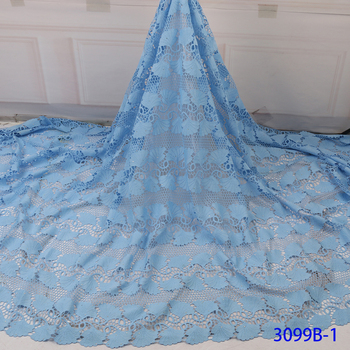 5yards Lace Fabric Lace Embroidered  Nigerian Fabric High Quality Wedding Party Women
