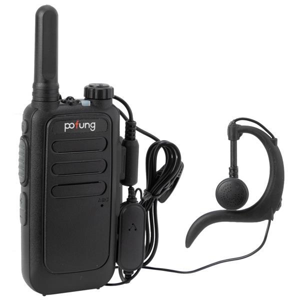 2 шт. рация дальнего действия VHF UHF Двухдиапазонная двухсторонняя радиостанция коммуникатор рация Pofung T15 FRS цифровая трубка