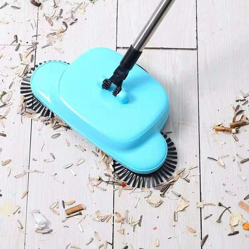 Sweeper Handheld Vacuum Cleaner Home Use Broom Dustpan Lazy Creativity Cleaner Multifunction Manual Sweeping Machine Hot E11047