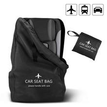 Baby Car Seat Travel Bag for Airplan Infant Safety Seat Organizer Stroller Gate Check Bag for Flying Pram Buggy Storage Bag