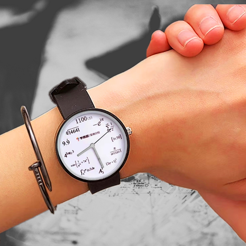 Children's Silicone Watch Girl Waterproof Primary School Students Lovely Middle School Girl Heart Of The Korean Version
