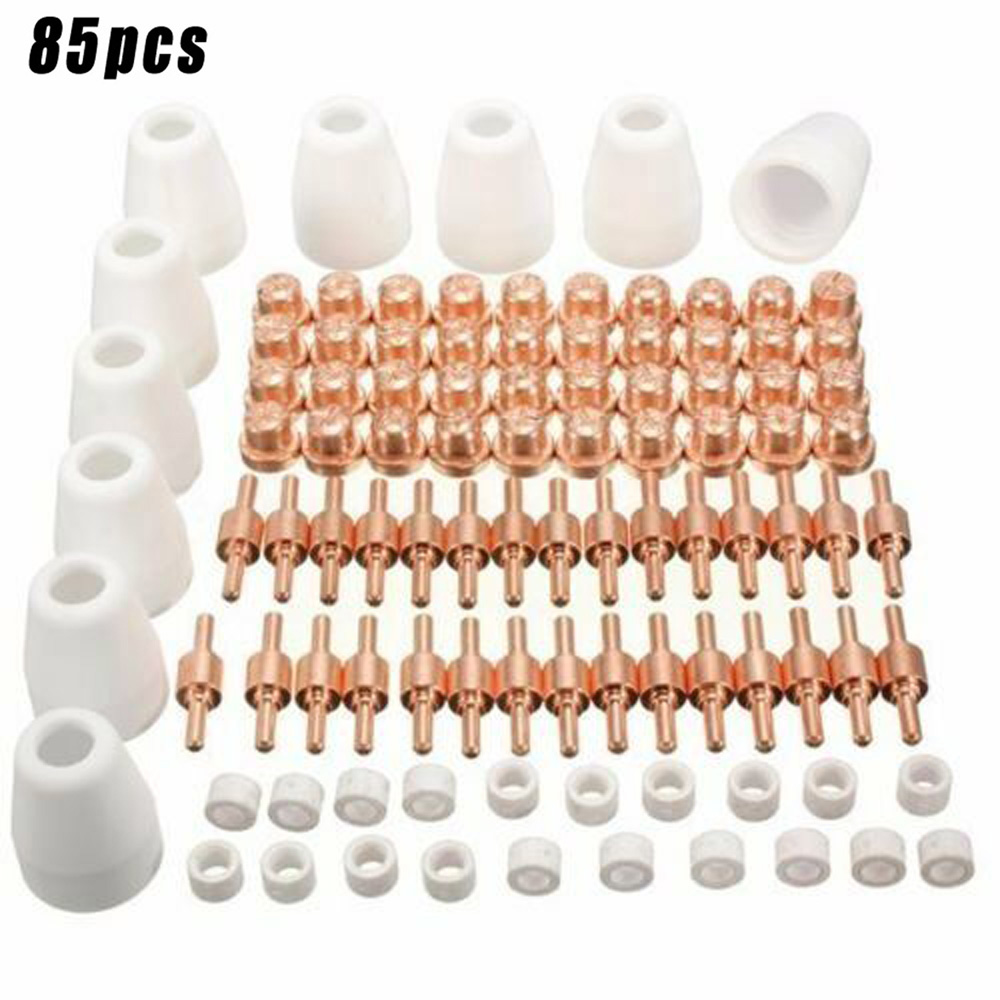 Replacement Plasma Nozzles Torches Welding Soldering Tools 85Pcs Cutter