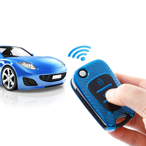 Image 5 - Luxury New Carbon Fiber TPU Car Key Cover Case For Hyundai i20 i30 ix35 Creta Solaris Elantra Accent For Kia Ceed K2 K5 Sportage