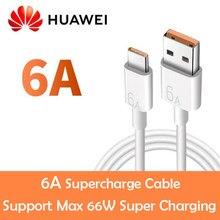 Original huawei nova 8 se 66w super carregador 6a supercharge tipo c cabo usb para nova 7 companheiro 20 30 40 p30 p40 pro honra 30s