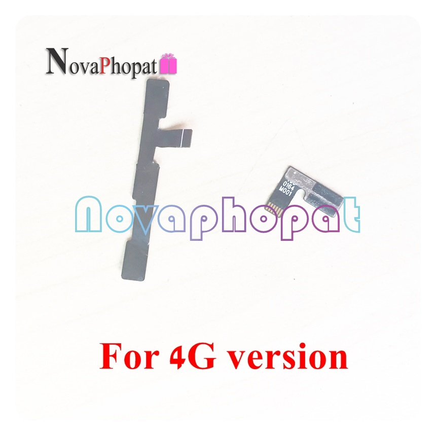 Novaphopat For Huawei Y3-2 LUA-U03 LUA-U23 LUA-L03 LUA-L13 LUA-L23 LUA-U22 3G / 4G Power On Off Volume Switch Button Flex Cable