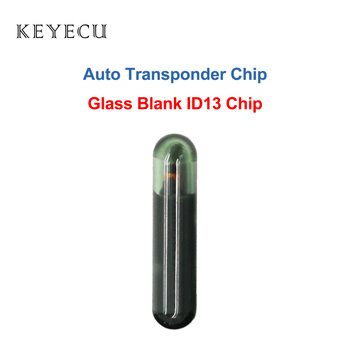 Keyecu Blank ID13 Chip Glass Auto Transponder Immbolizer Chip for Acura Buick Cadillac Chevrolet Honda Pontiac Oldsmobile image