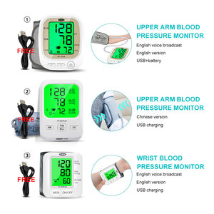 Image 2 - Cofoe自動血圧モニター上腕パルスゲージ計bp心拍数眼圧計デジタル液晶血圧計