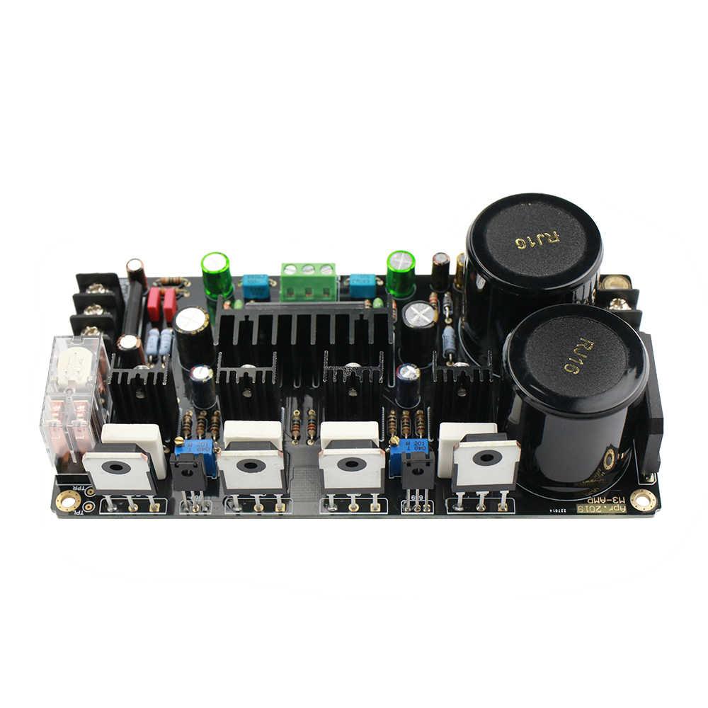GHXAMP ONsemi rury płyta wzmacniacza UPC2581V 150W + 150W HiFi podwójny kanał wzmacniacze audio NJW0281G NJW0302G