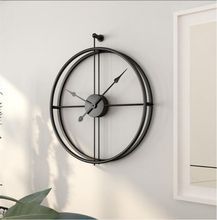 Personalized wall clock for home Living room wall clock Creative wall clock Personalized wall clock creative gear wooden wall clock vintage industrial style clock wooden electronic home decorative wall clock