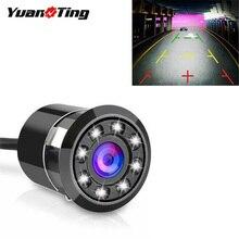 YuanTing 170 широкоугольная HD CMOS автомобильная парковочная помощь камера заднего вида 8 светодиодный водонепроницаемый ночного видения
