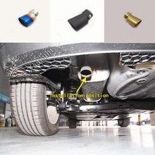 Para volkswagen vw t-cross tcross 2018 2019 2020 tampa do carro silenciador extremidade exterior tubo dedicar ponta de escape saída cauda ventilação guarnição