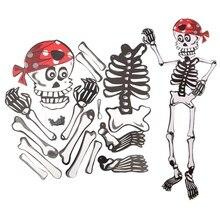 Halloween Paper Diy Pendant 3d Skeleton Zombie Vampire Ornament Funny Festive Party Supplies Wedding DIY Decoration