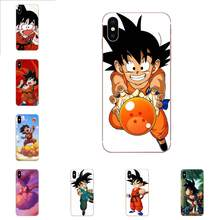 Lembut TPU Coque Case Dragon Ball Goku Anak untuk Samsung Galaxy Note 8 9 10 Pro S4 S5 S6 S7 s8 S9 S10 S11 S11E S20 Edge Plus Ultra(China)