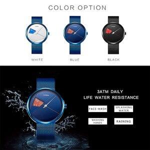 Image 5 - แบรนด์SINOBIแฟชั่นผู้ชายนาฬิกาควอตซ์มิลานสายนาฬิกาข้อมือธุรกิจหรูหรากีฬานาฬิกาRelogio Masculino