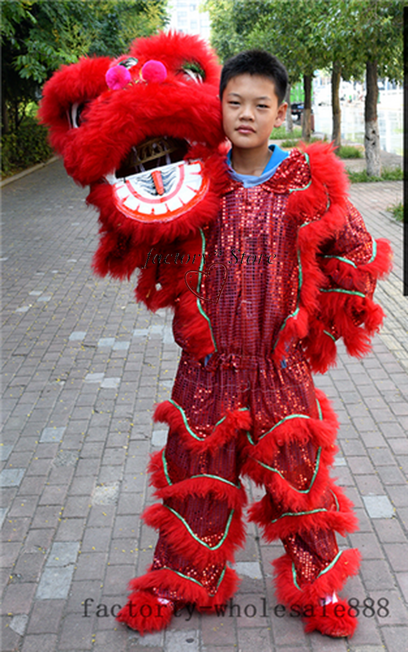 Costume Dance-Mascot Lion Halloween Carnival for One-Person Advertising Christmas-Easter
