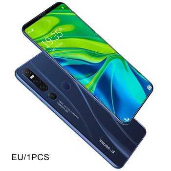 New P46 pro Smartphone 1GB+8GB cellular Android 9.1 Handphone Core 6.1inch mobilephone Face Fingerprint Recognition