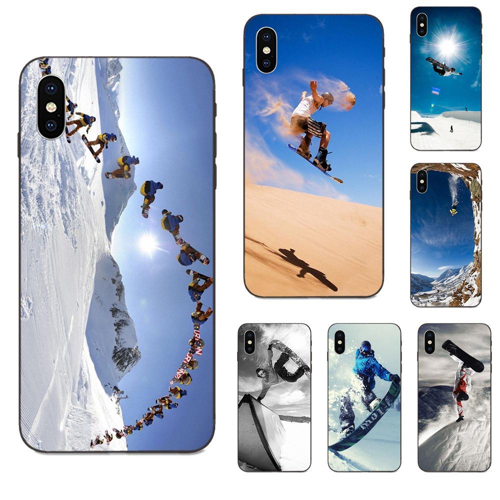 Enjoy Snow Or Die Ski Snowboard TPU Luxury For Galaxy A8 A9 Star Note 4 8 9 10 S3 S4 S5 S6 S7 S8 S9 S10 Edge Lite Plus Pro G313