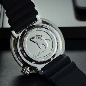 Image 5 - サンマーティンマグロダイバーステンレス鋼自動メンズ腕時計多色 30Bar 防水発光サファイア日付 Relojes часы