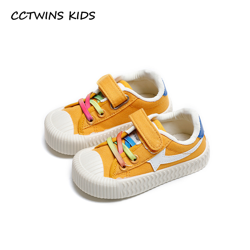 CCTWINS Kids Shoes 2020 Spring Toddler Boys Canvas Shoes Children Fashion Casual Trainers Baby Girls Mesh Sport Sneakers FC2755