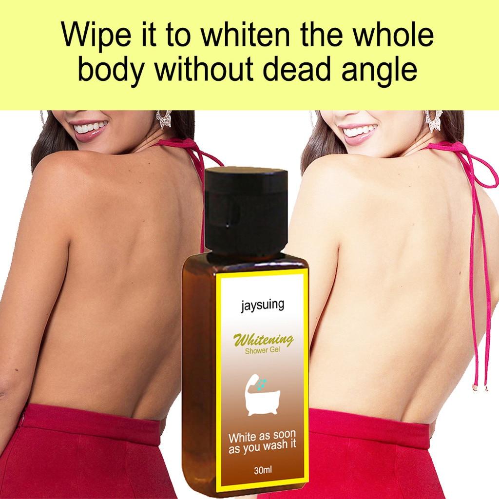 Volcanic Mud Shower Gel Cleaning Fluid Whole Body Wash Fast Whitening Deep Clean Skin 30ml Body Wash Shower Gel For All Skin