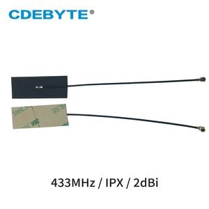 Image 2 - 10 قطعة/الوحدة الشركة العامة للفوسفات هوائي داخلي 433MHz IPEX واجهة 2dbi احادي واي فاي انتينا