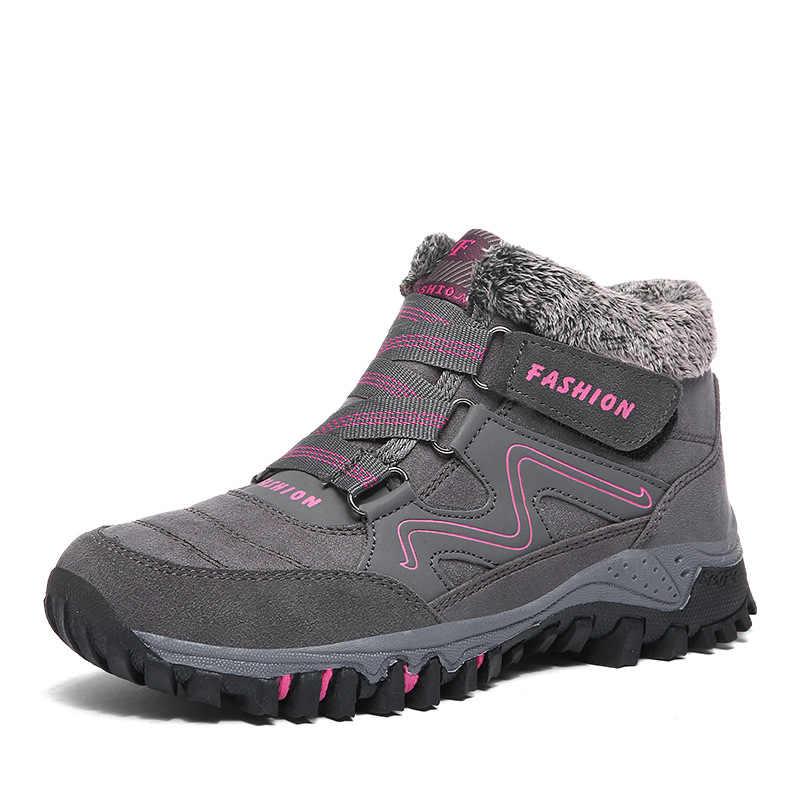 アンクルブーツ男性の冬の靴男性雪のブーツの靴 + 男性ボタ masculina couro zapatos デ hombre ボタ masculina erkek ayakkabi