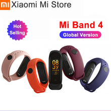 Original Newest Xiaomi Mi Band 4 Bracelet Heart Rate Fitness Bluetooth 5.0 Color Screen 135mAh 50M Swimming Waterproof