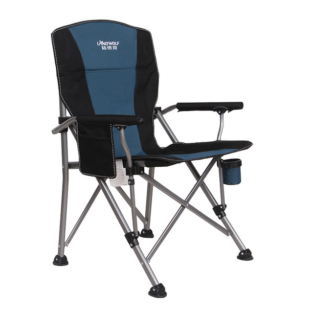 Load-bearing 300 kg Outdoor folding lounge chair Wild camping Fishing/stool Beach chair easy carry for camping 4