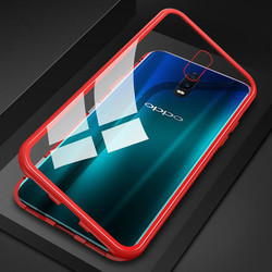 На Алиэкспресс купить стекло для смартфона 360 magnetic metal case for oppo a5 a7 a9 a3s a7s r17 f11 pro r15 r15 dream back cover tempered glass back magnet case coque