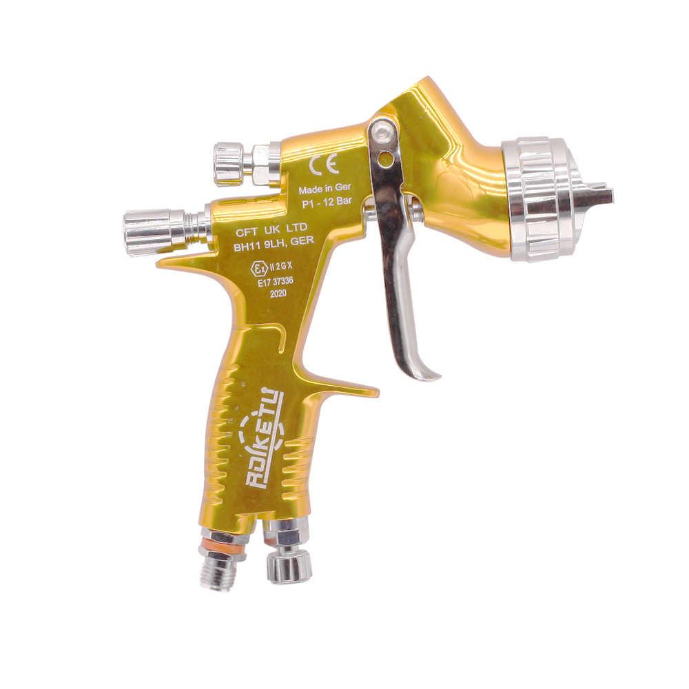 ROLKETU Kualitas Tinggi Profesional GTI Pro Lite Lukisan Gun TE20/T110 1.3Mm Nozzle Spray Gun Paint Gun Air berbasis Air Spray Gun