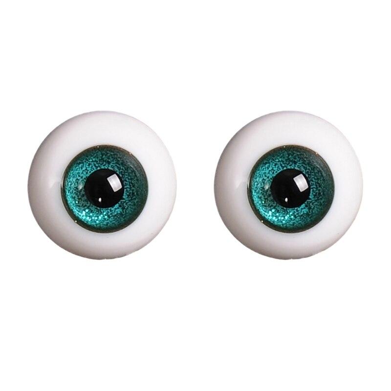 14mm 1/3 1/4 Doll Glass Eyes Doll Accessories Glasss Doll Eyeball 22