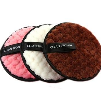 Nuevo Reutilizable removedor de maquillaje de almohadillas de algodón hacer esponja de...