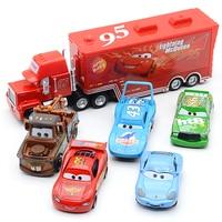 Disney Pixar Autos 3 Spielzeug Auto Gesetzt Blitz Mcqueen Mack Onkel Lkw Rettungs Sammlung 1:55 Diecast Modell Auto Spielzeug Kinder geschenk