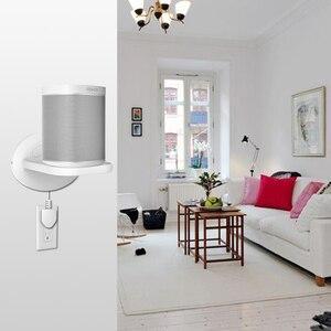 Image 5 - Настенный держатель подставка для Amazon Echo Dot (3 го поколения) Google home mini Sonos One Play:1 и больше домашних камер видеонаблюдения