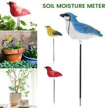 Detector automático de humedad del suelo, medidor de humedad del suelo con aguja en forma de pájaro, hidrómetro, Sensor de humedad del agua del suelo