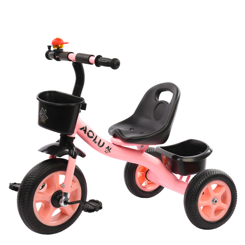 Children Bicycle Tricycle 2-6 Years Old Carbon Steel Frame Boys and Girls Kid Pedal Tricycle Baby Walker Riding Toys