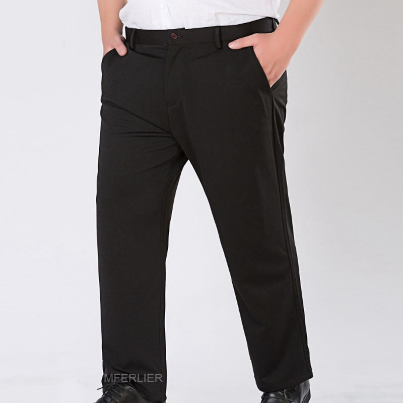 Spring summer Plus size pants 5XL 6XL 7XL 8XL 9XL business waist 138cm elastic Loose pants 2 colors